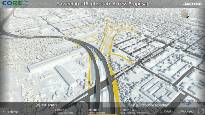 Option 2: No Interstate Access